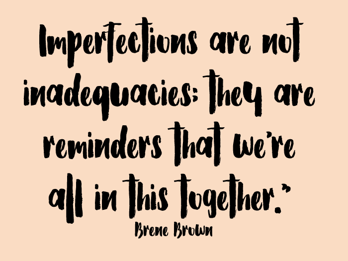 imperfections inaququacies
